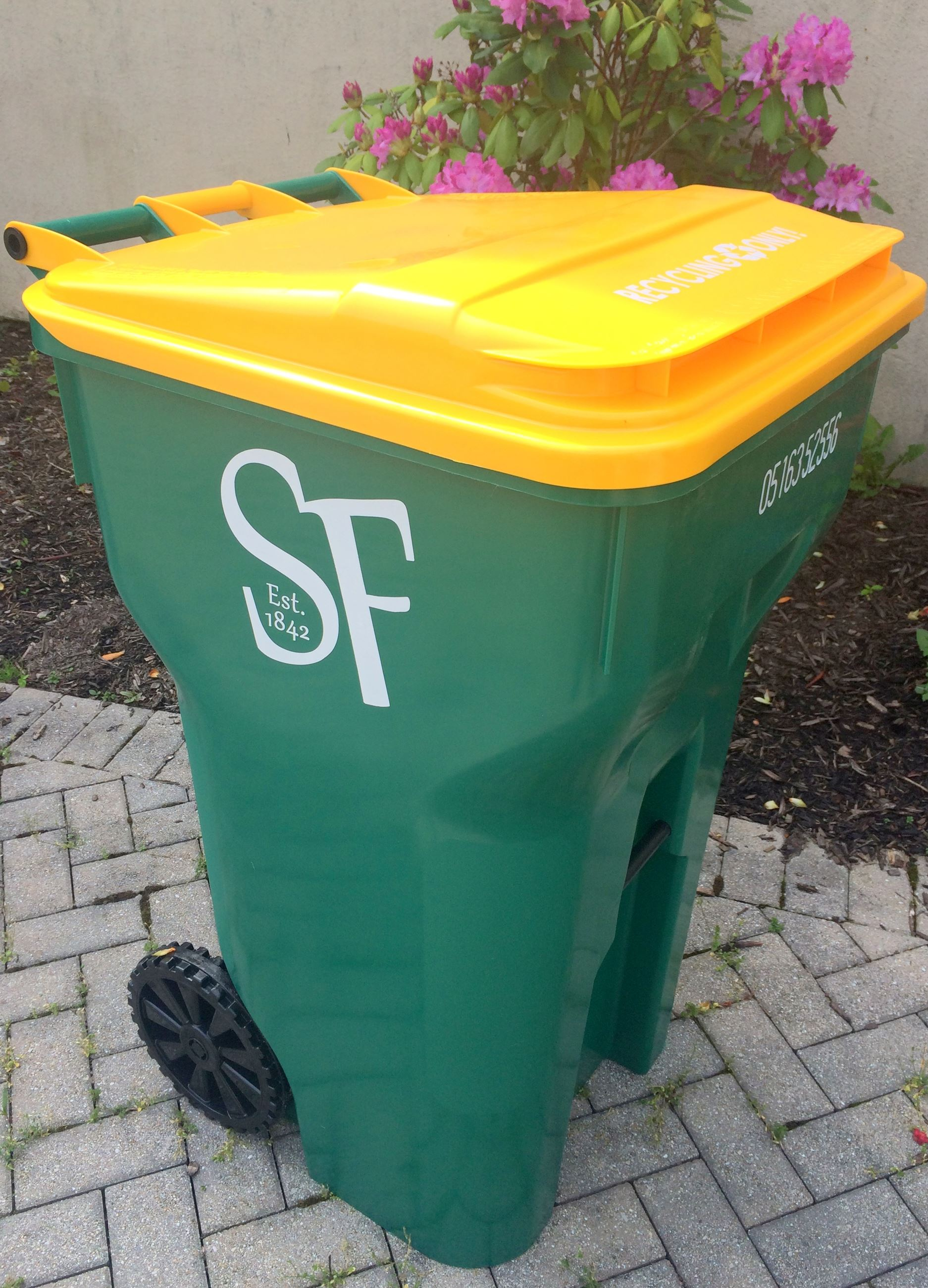 Recycling cart